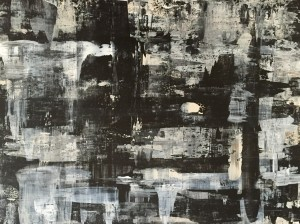 Abstrakt01, Acryl on Canvas Panels, 80X60cm