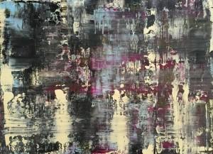 Abstrakt02, Acryl on Canvas Panels, 80x60cm