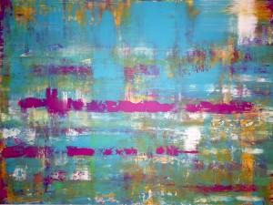 Abstrakt03, Acryl on Canvas Panels, 80x60cm