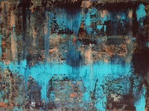 Abstrakt05, Acryl on Canvas Panels, 80x60cm