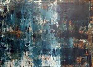 Abstrakt06, Acryl on Canvas Panels, 80x60cm