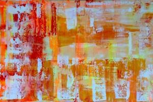 Abstrakt201, Acryl on Canvas Panels, 120x80cm