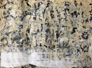 Acryl on Laid Paper 01, 60x80cm, 2016