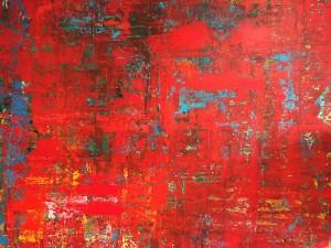 Bologna, Acryl on Canvas, 170x150 cm