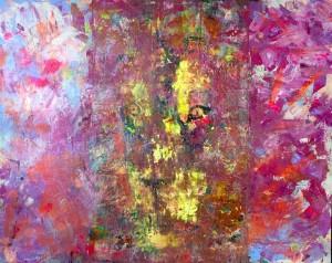 Hidden Secrets of Cambodia 2016, Acryl on Canvas, 120x150cm