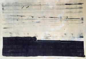 Steuerausgleich 01, Acryl on Canvas, 100x70cm