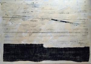 Steuerausgleich 06, Acryl auf Leinwand, 100x70 cm