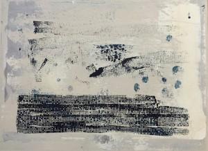 Steuerausgleich 10, Acryl on Canvas, 30x40cm
