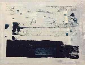 Steuerausgleich 11, Acryl on Canvas, 30x40cm