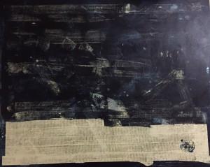 Steuerausgleich vice versa 01, Acryl on Canvas, 110x90 cm,
