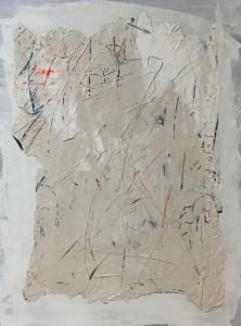 Terra fertilis A I, Mixed Media on Canvas, 81x60cmx