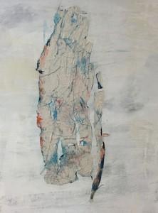 Terra fertilis A II, Mixed Media on Canvas, 81x60cm