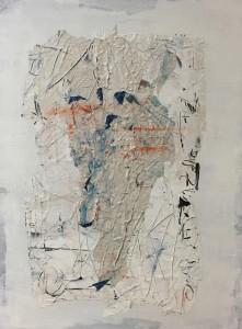 Terra fertilis A III, Mixed Media on Canvas, 81x60cm