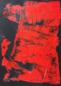 Terra fertilis B III, Mixed Media on Canvas, 81x60cm