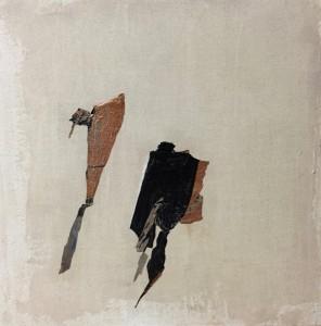 Terra fertilis E I, Mixed Media on Canvas, 50x50cm