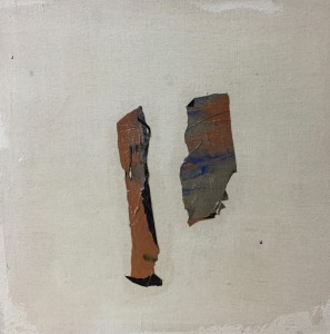 Terra fertilis E III, Mixed Media on Canvas, 50x50cm