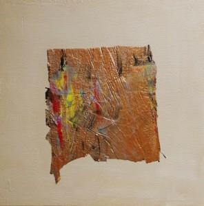 Terra fertilis E IV, Mixed Media on Canvas, 50x50