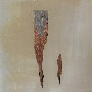 Terra fertilis E IX, Mixed Media on Canvas, 50x50cm