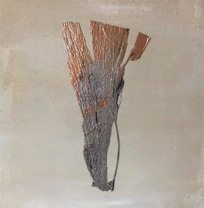 Terra fertilis E VII, Mixed Media on Canvas, 50x50cm