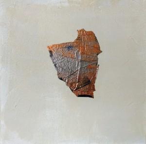 Terra fertilis E VIII, MIxed Media on Canvas, 50x50cm
